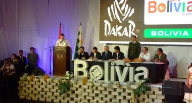 Discurso Etienne Lavigne en Bolivia
