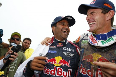 AUTO - DAKAR 2015 FINISH
