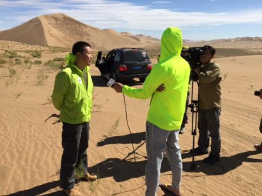 Song Jun interviews about the China Silk Road Rally.