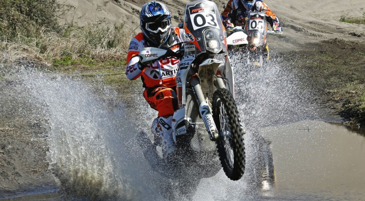 Atacama Rally: Quintanilla y Casale play local and score stage win