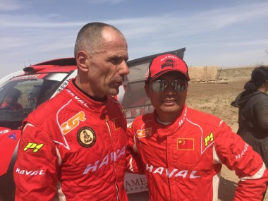 Christian Lavieille and Han Wei on the Haval Team.