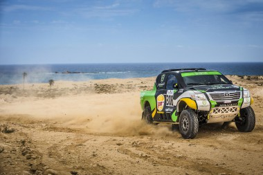 Yazeed Al-Rajhi returns to cross-country action in Morocco with Overdrive Racing.