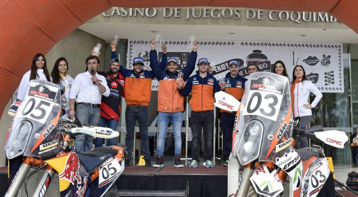 Pablo Quintanilla and Ignacio Casale win the Atacama Rally