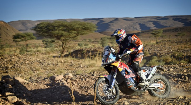 Sunderland takes the leadership of the Rally... and of the KTM Team