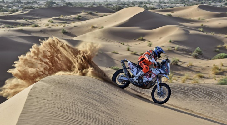 Sunderland, Walkner and Quintanilla continue to fight out at Morocco Rally