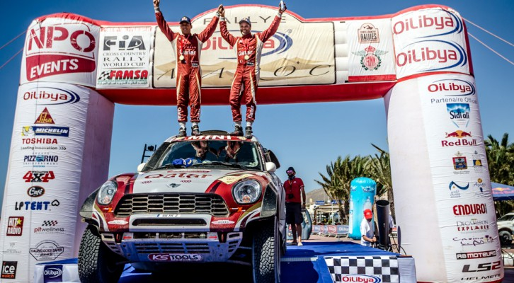 Nasser Al-Attiyah wins rally in Morocco
