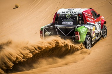 Yazeed Al-Rajhi in Moroccan action.