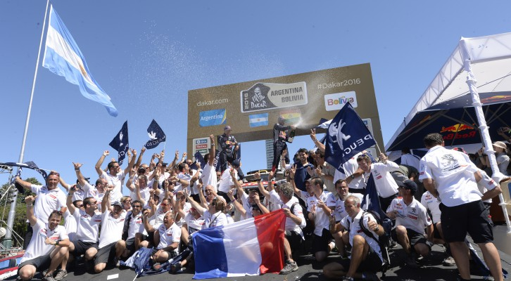 PEUGEOT has won the Dakar on just its second participation in the South American event.