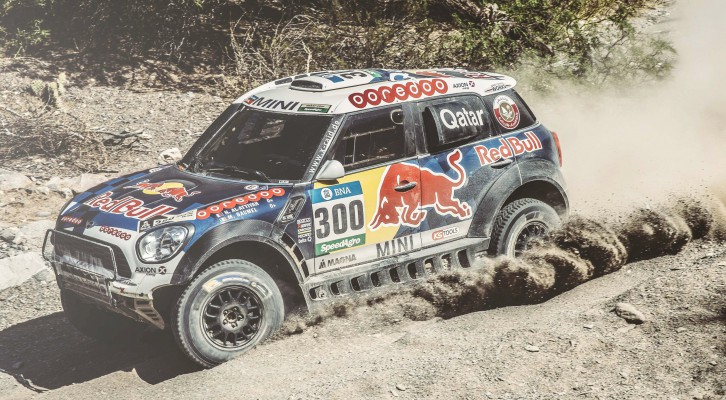 Al-Attiyah and the MINI ALL4 Racing – Winners in the four-wheel-drive ranking