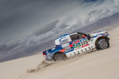 Xavier Pons and his Ford Ranger are getting ever closer to the finish of the 2016 Dakar Rally.