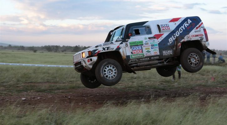 Czech autocross champion debutes with Buggyra Ultimate Dakar's Hummer