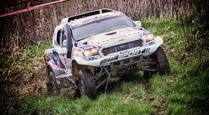 Another victory for South Racing CE's Ford Ranger in Poland