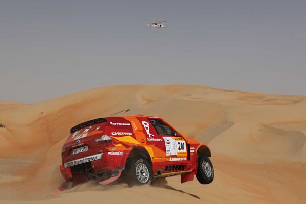 Novitskiy en el Desert Challenge de 2010