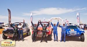 Cars podium