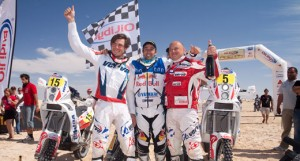 Motorbikes podium