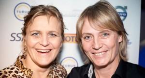 Tina Torner & Jutta Kleinschmidt